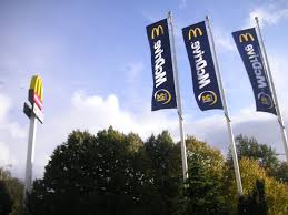 Flags In File Mcdonalds Flags In Słupsk Jpg Wikimedia Commons