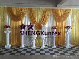 wedding backdrop prices 2018 facotory price wedding backdrop curtain stage background from