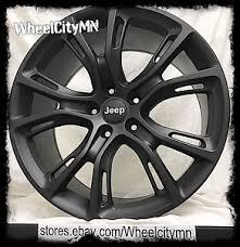 jeep grand cherokee wheels 20 inch matte black jeep grand cherokee srt oe replica wheels 2014