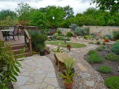 Small Backyard Landscaping Ideas Xeriscaping Ideas For An Enclosed Fenced Backyard A Nice Plan