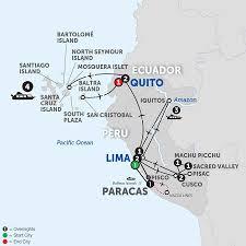 Amazon River On World Map by Amazon River Cruise Avalon Waterways