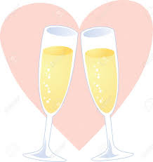 cartoon wine glass cheers champagne cheer clipart explore pictures