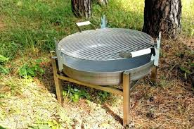 Firepit Grill Outdoor Pit Grills Outdoor Table With Firepit And Grill