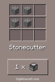 Minecraft Crafting Table Guide How To Make A Stonecutter In Minecraft Pe And Windows 10
