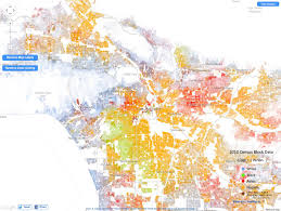 Los Angeles Gangs Map Territory by The Dream Of The 1890s Is Alive In Portland Metafilter