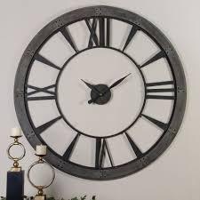 Interesting Wall Clocks Clock Kohl U0027s Wall Clocks Large Decorative Wall Clocks Unique