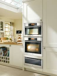 built in miele ovens vertical tower wheaton road pinterest