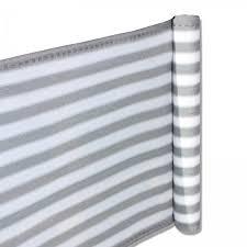 balkon sichtschutz grau balkon sichtschutz 0 90 x 5m grau weiß hussen garten fsh