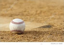 Home Plate Baseball Sport Games Baseball In Dirt Stock Image I1928285 At Featurepics