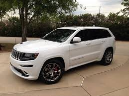 jeep 2014 white white 2014 srt 2014 jeep grand srt jeep garage