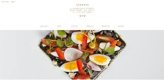 10 delectable food and restaurant web designs