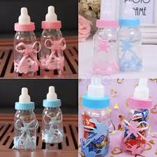 baby shower gift bags 2017 baby shower gift box bottle blue boy pink girl baptism