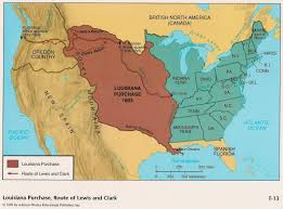 Louisiana State Map by This Is A Map Of The Land Mass That The United States Gained From