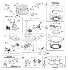 nutone heat vent light 9093 nutone 9093n parts list and diagram ereplacementparts com