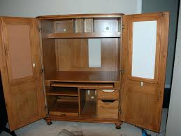Computer Armoire Cabinet Computer Armoire Desk Blahblahfire