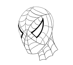 draw spiderman u0027s face easy drawing guides drawing art gallery