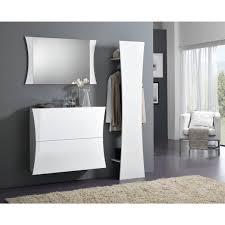 scarpiera ingresso odilon set mobili ingresso moderno bianco lucido scarpiera