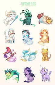 Chions League Meme - support cats league of legends league of legends