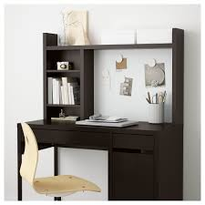 Get In Touch For Hutch Micke Add On Unit High Black Brown Ikea