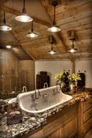 rustic bathroom decor ideas lighting wood bathroom wall design ideas with rustic bathroom