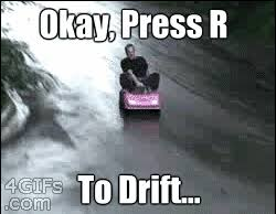 Drift Meme - mario karted tokyo drift in a barbie car know your meme