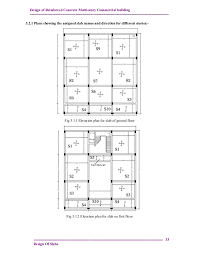 2 storey commercial building floor plan design and analysis of reinforced concrete multistory commercial buil