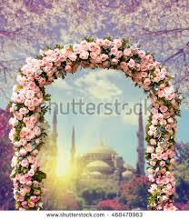 wedding arches flowers flower arch stock images royalty free images vectors