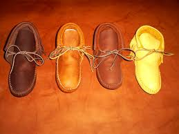 leather boots and moccasins handmade buckskin moccasin leather