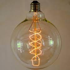large globe light bulbs globe large spiral e27 40w 60w