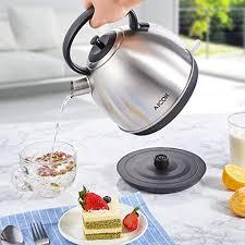 cuisiner avec une bouilloire aicok bouilloire électrique inox avec thermostat bouilloire inox
