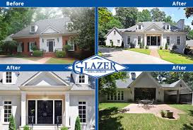 house renovation before and after home renovation before and after glazer construction atlanta