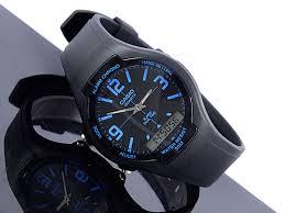 Jam Tangan Casio Karet jam tangan casio aw 90h 2bv original jual jam tangan original