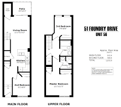 floor plans toronto floor plans 51foundry avenue unit 56 sold