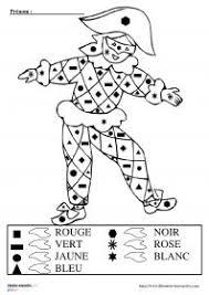 coloriage magique clown 2 maternelle clown pinterest