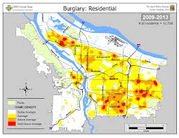 Map Of Portland Neighborhoods by Portland State Criminal Justice Policy Research Institute