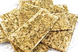 matzo unleavened bread passover herbed baked matzos with weight watchers points