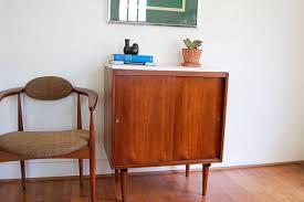 mid century bar cabinet small cabinet bookshelf bar sideboard white laminate top mid century