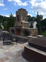 outdoor fireplace builders in buckingham and richboro pa ks