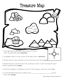 freebie cardinal direction practice and beginning map skills are