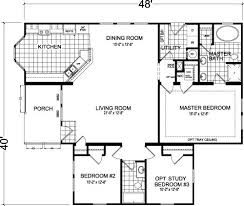 Champion Floor Plans Bay Manor Modular Bm722 Homes Of Merit Champion Homes Homes