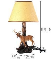 table lamps antler lamp deer light fixtures wagon wheel