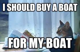 Yacht Meme - livememe com sophisticated cat