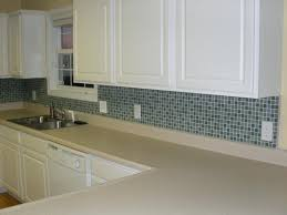 Blue Glass Kitchen Backsplash Glass Tile For Kitchen Backsplash Ideas Interior Blue Glass Tile