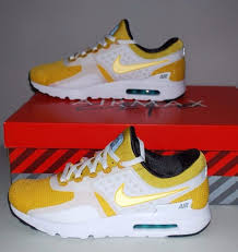 nike air max zero qs tinker sketch mens 789695 100 yellow running