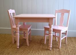 Toddler Table And Chairs Wood William U0027s Children Table U0026 Chair Set By English Farmhouse Furniture