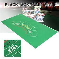 neoprene game table cover board games mat roulette black jack blackjack table cloth poker