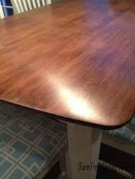 Furniture General Finishes Gel Stain Stain Dark Walnut Wood by Table And Chairs In Java Antique Walnut Gel Stain And Lamp Black