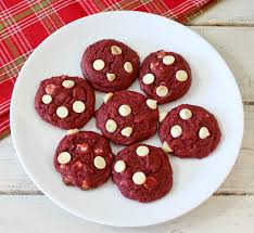 red velvet cookies peanut butter and peppers