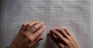 How Do Blind People Read Braille Maps That You Can Hear And Touch Citylab