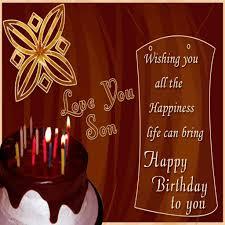 elegant happy birthday son images free